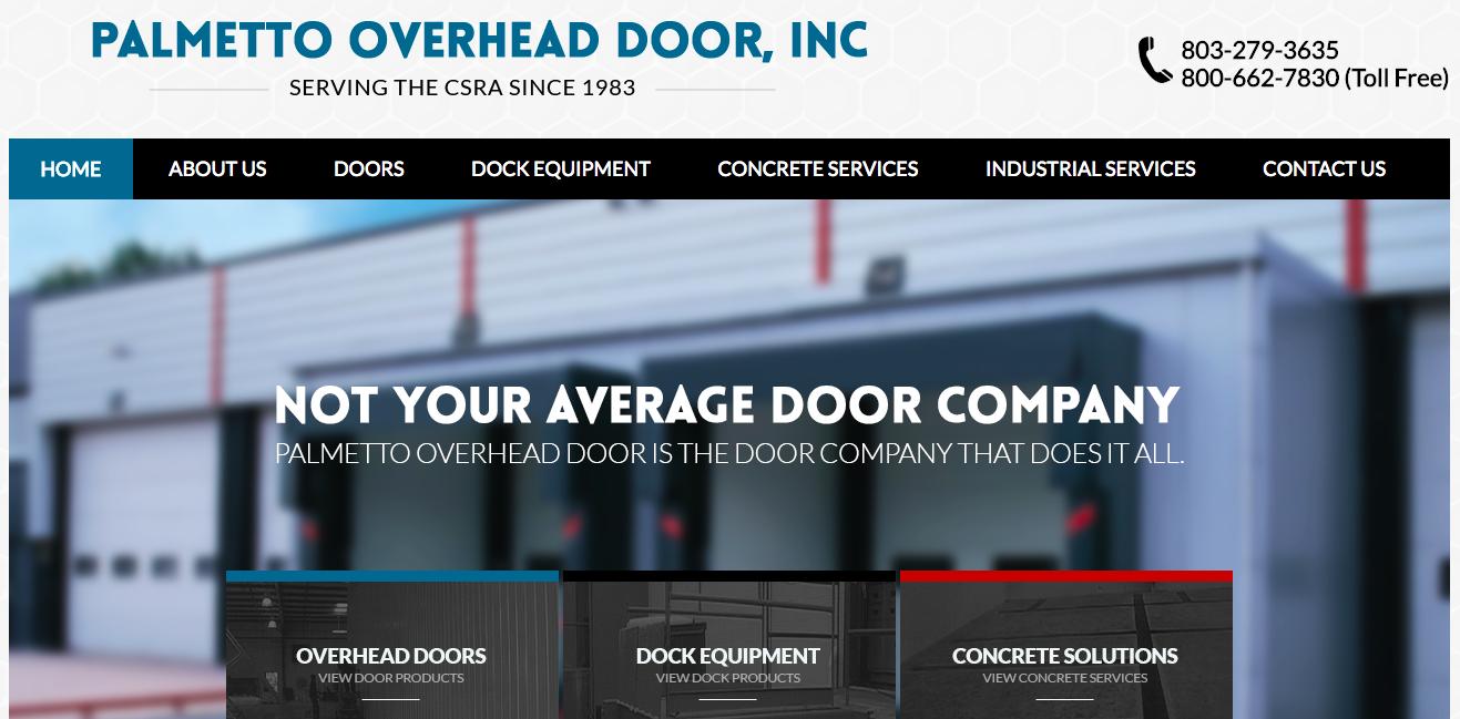 current website design