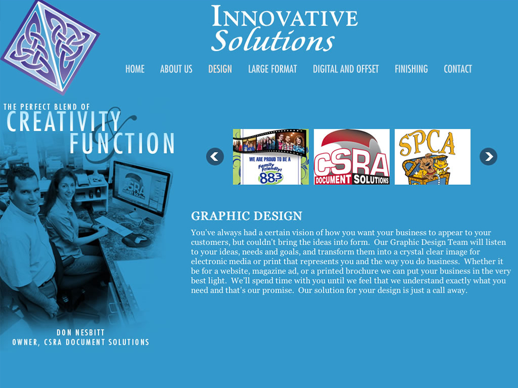 site design augusta ga