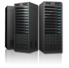 Website Hosting Server Photo