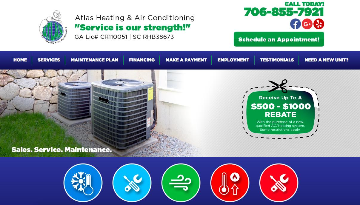 Site Design Atlas Heating Amp Air Conditioning Alive